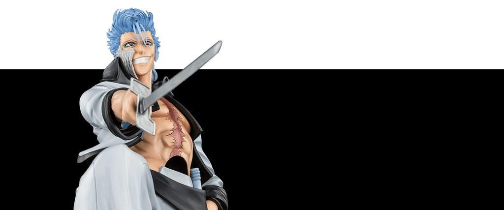 嗜殺獵豹!Oniri Creations《BLEACH 死神》葛力姆喬·賈卡傑克 1/6 比例雕像