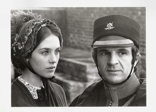 Isabelle Adjani and François Truffaut in L'histoire d'Adèle H. (1975)