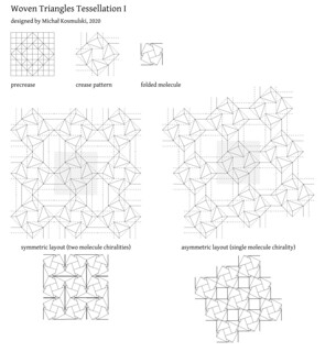 Woven Triangles Tessellation I CP