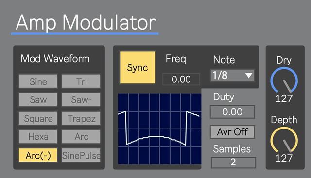 Amp Modulator