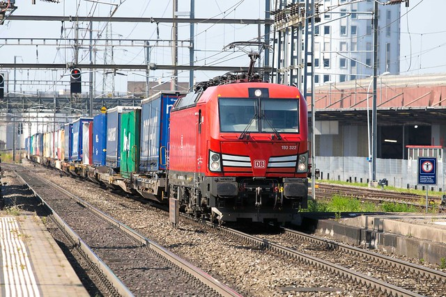 DB Cargo 193 322 Pratteln