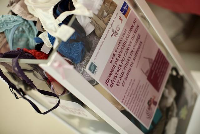 """Le centre hospitalier de Versailles en partenariat avec """"Les Souliers Roses"""" organise une journée de sensibilisation au dépistage du cancer du sein et aux prises en charge des soins de supports"""