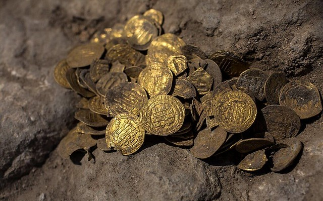 ISRAEL-HISTORY-ARCHAEOLOGY-GOLD