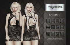 KiB Designs - Eavan Dress @4Seasons Event