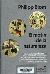 Philipp Blom, El motín de la naturaleza
