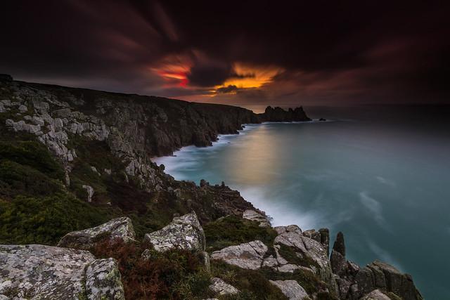 Pedn Vounder Sunrise - Porthcurno - Cornwall