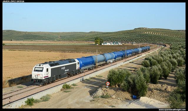 Tren de biodiésel en San Julián