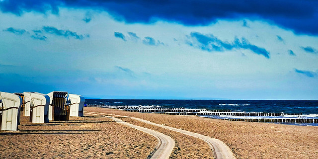 Graal-Müritz - Am Strand