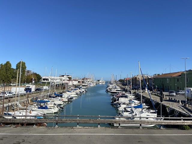 Porto di Pesaro - ottobre 2020