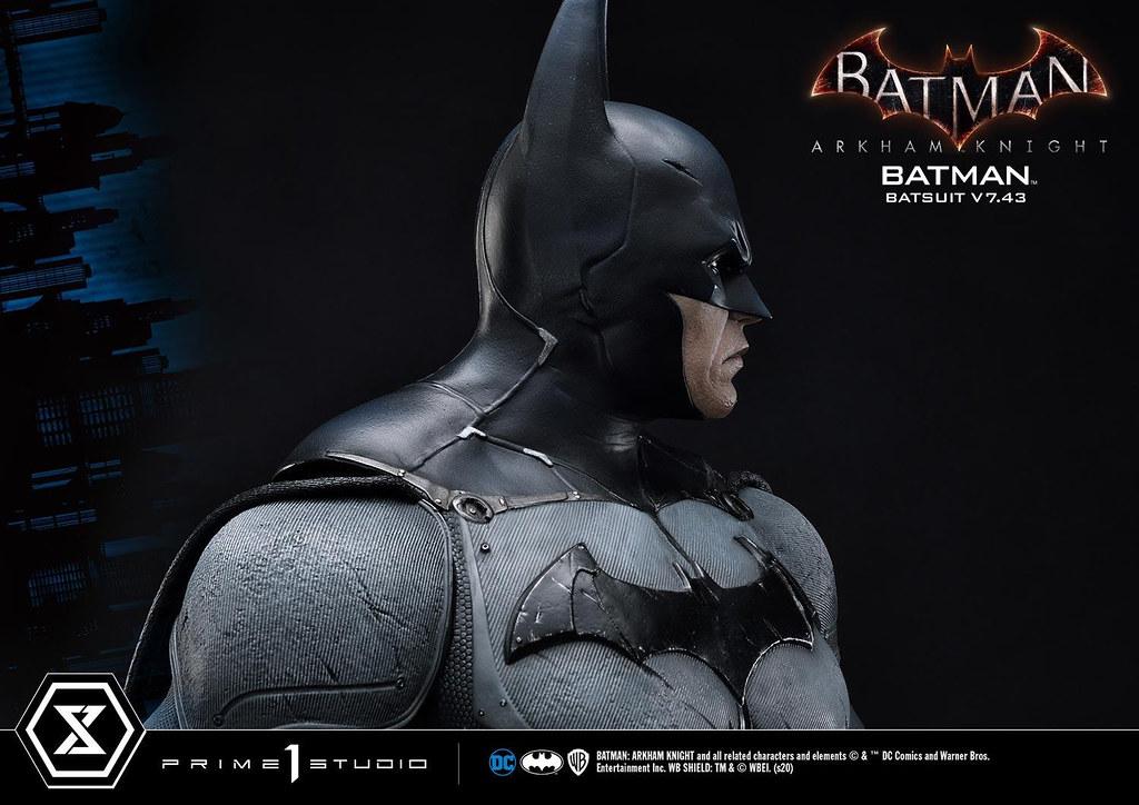 Prime 1 Studio《蝙蝠俠:阿卡漢騎士》蝙蝠俠 蝙蝠戰衣 V7.43