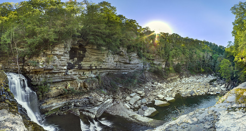 Cummins Falls, Blackburn Fork, Jackson County, Tennessee 16