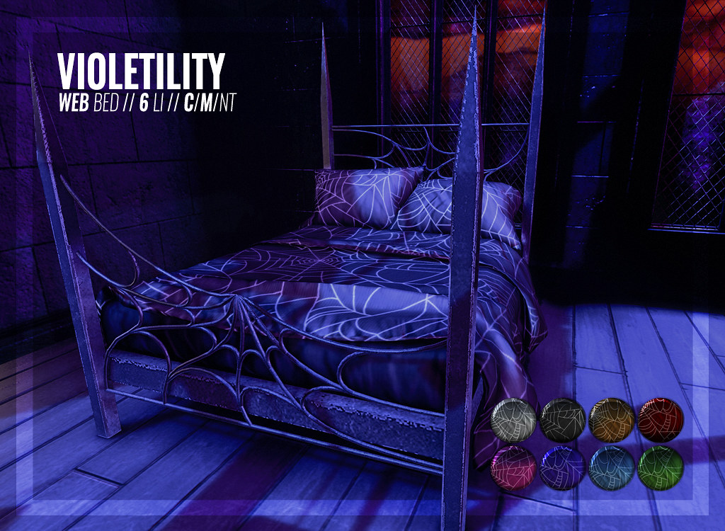 Violetility – Web Bed