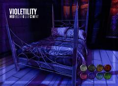 Violetility - Web Bed