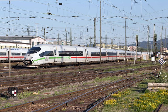 DB ICE 403 013 Basel Badischer Bahnhof