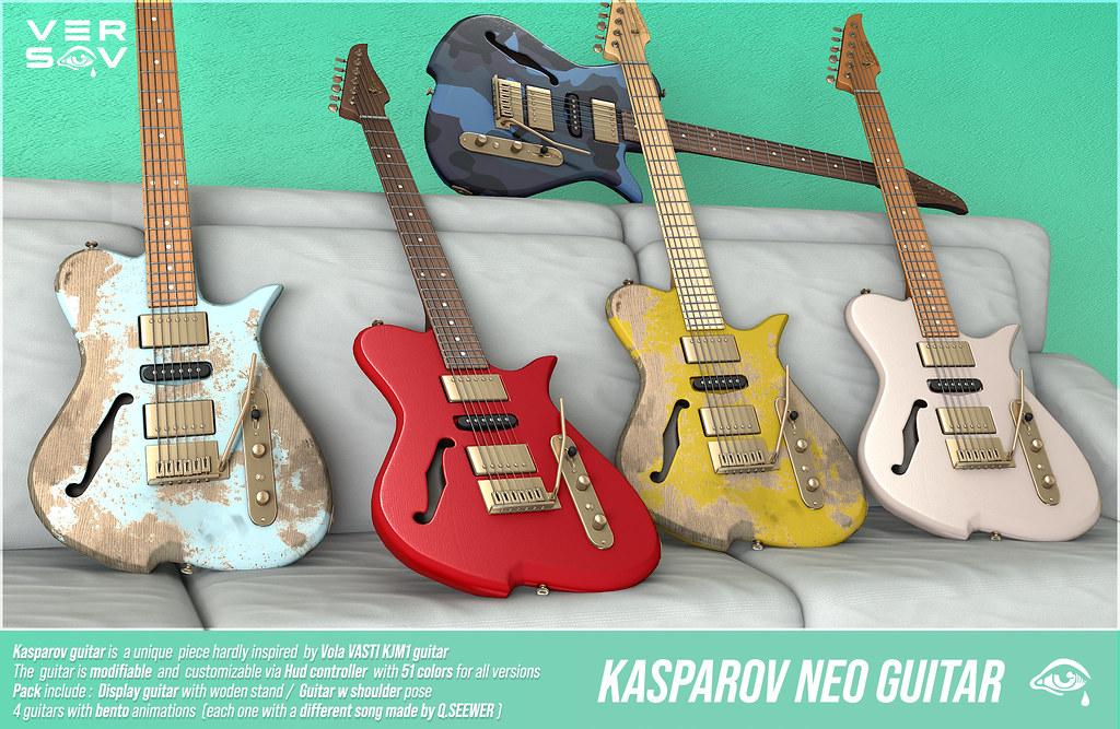 [VERSOV] KASPAROV_GUITAR @Kustom9
