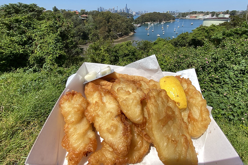 Fish box lunch
