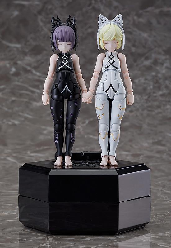純潔的兩極之器《chitocerium》第四彈『XCIX-albere & C-efer』組裝模型