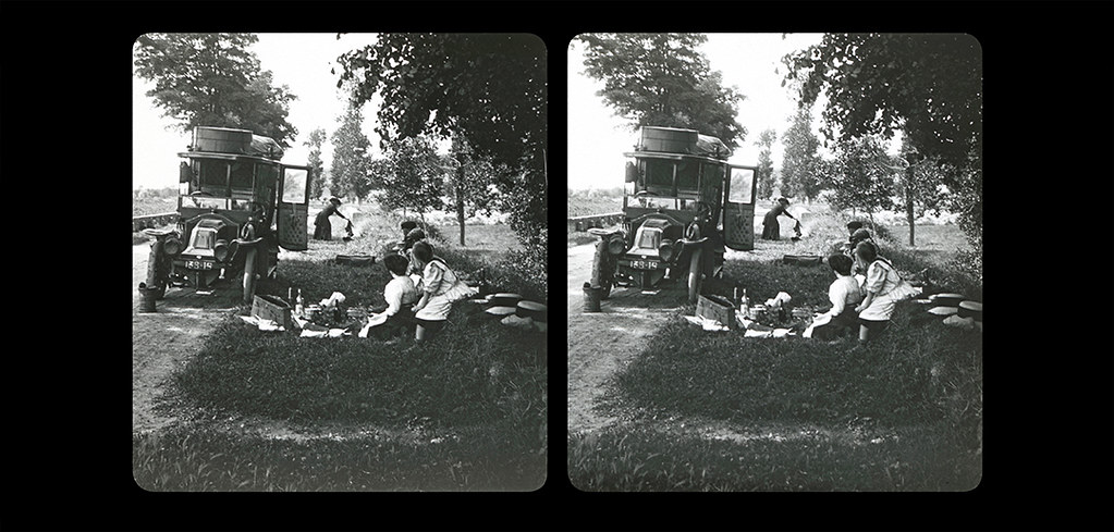 Small Picnic by the side of the road-03a-1910