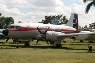 CU-T825. IL-14. Cubana (Government). Museo del Aire - La Habana.
