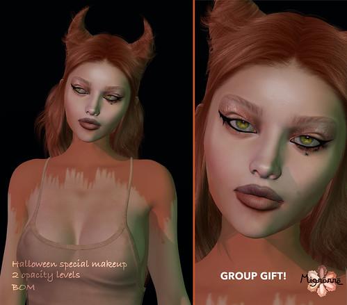 Halloween makeup GIFT