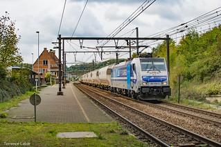 La BR186 426 Rurtalbahn Cargo de passage à Diest ce 14 octobre 2020 en charge d'un train de sucre en direction de Muizen.