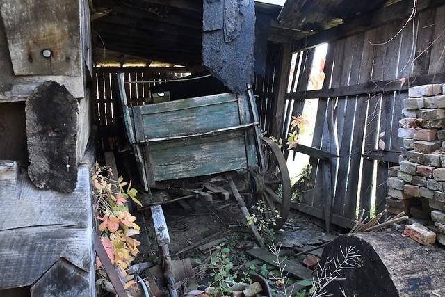 Antique Wagon at Pioneer Village