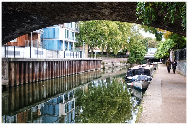 Along Limehouse Cut …