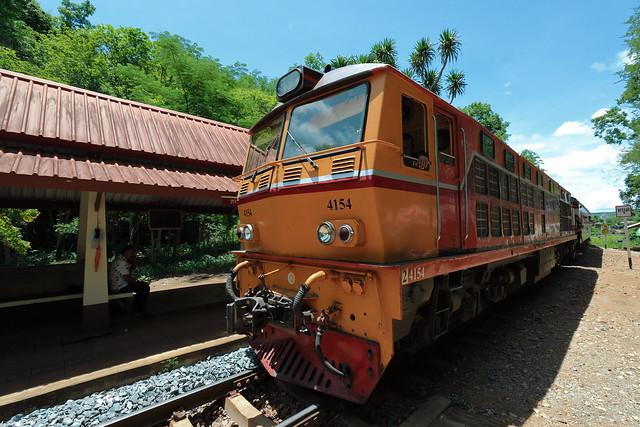 Death railway at Thamkrasae Bridge