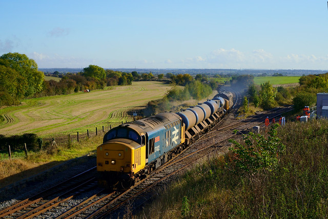 Tractors Leaf Busting at Clarborough Junction...