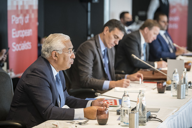 PES EU Council preparation meeting, Brussels, 15 October 2020