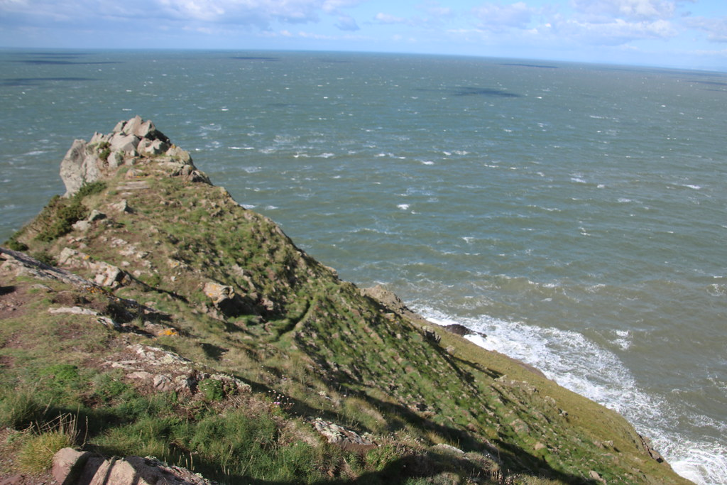 Looking over the Bristol Channel