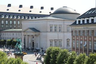 København - Kopenhagen: Schlosskirche von Schloss Christiansborg