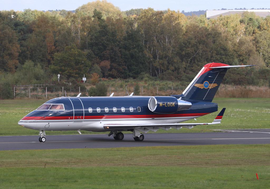 Bombardier Challenger 604 - M-LOOK