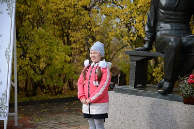 День рождения М.Ю. Лермонтова 15 октября 2020 года. Музей-заповедник «Тарханы». Фотограф Александр Семенов