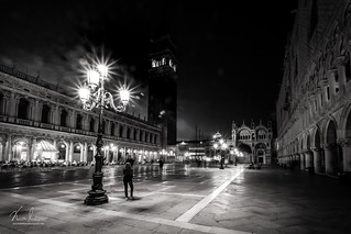 St Mark's Square Mono at night | by KeithMasonPhotography (a.k.a. Scooter.john)