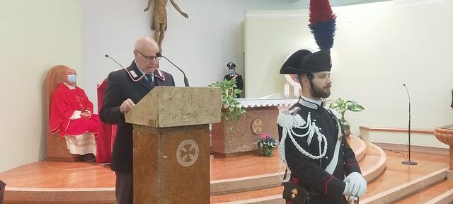 Commemorazione Maresciallo Maritano 15 ottobre 2020