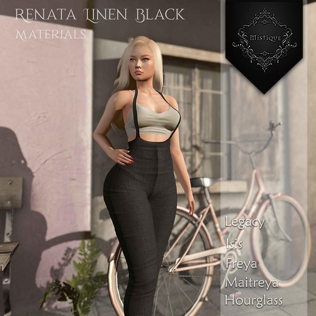 [M] Renata Linen BlackAD