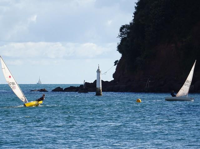 Shaldon Sailing Club off the Ness