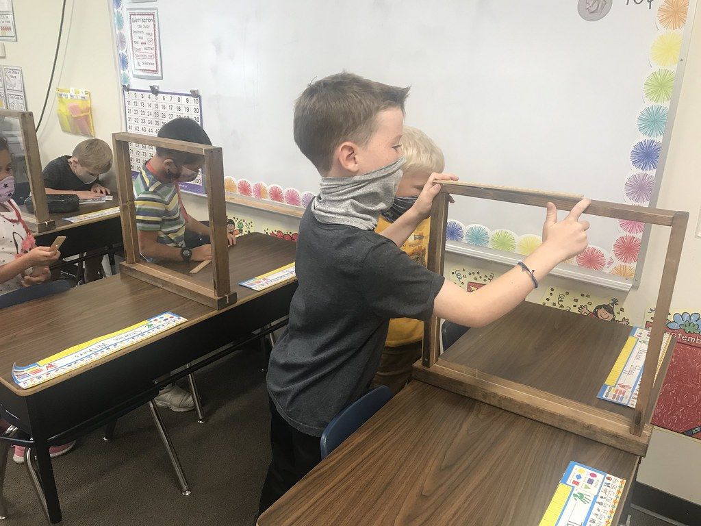 Mrs. Miller class learning to measure
