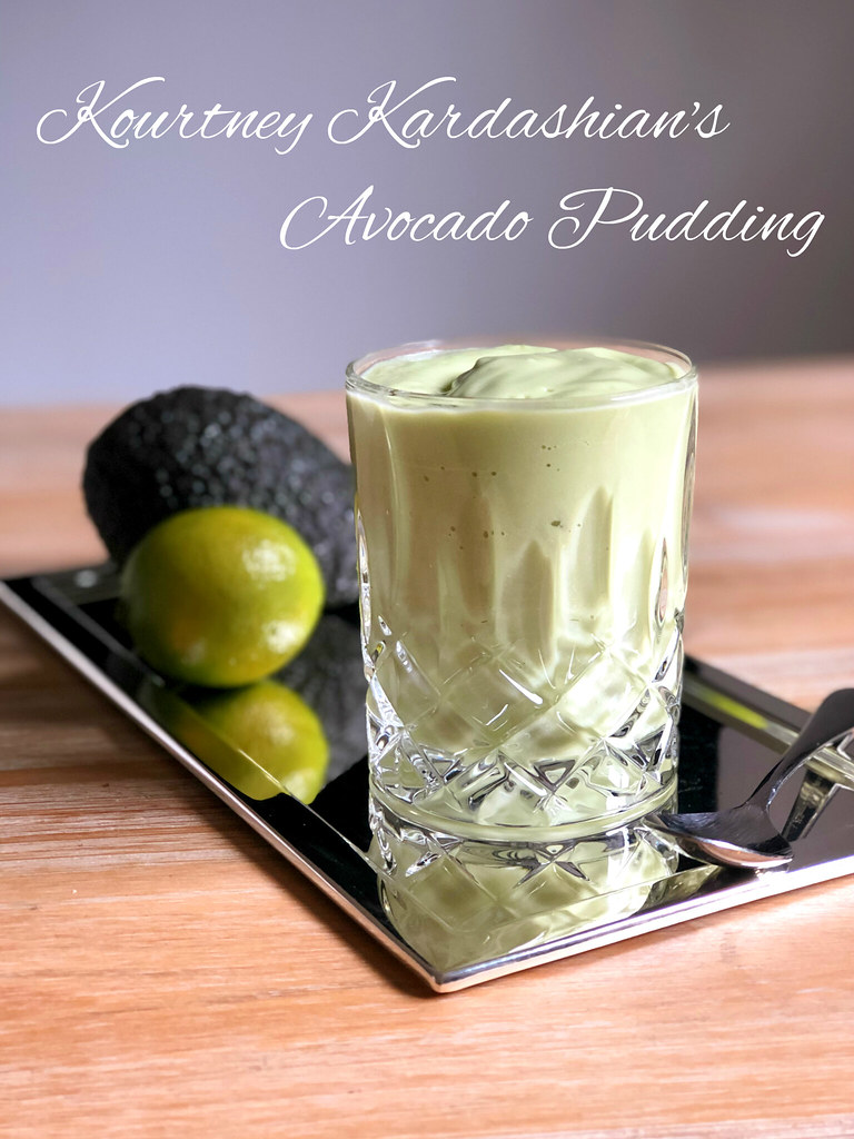 考特尼·卡戴珊(Kourtney Kardashian)'s Avocado Pudding