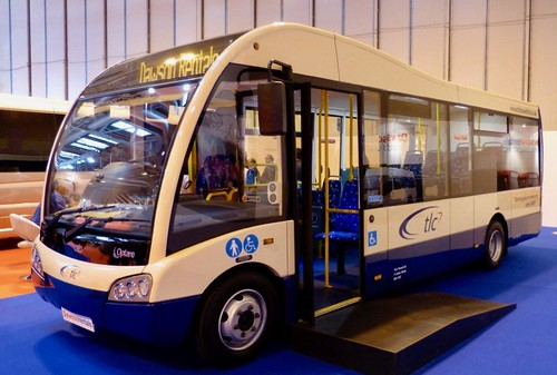 'TLC Travel Ltd.' Optare Solo SR on Dennis Basford's railsroadsrunways.blogspot.co.uk'