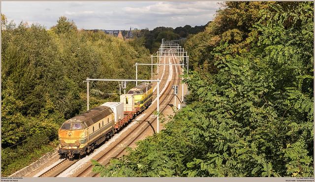 TUC-Rail 5508 + 5518 @ Beersel
