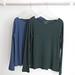 La Boutique Extraordinaire - Majestic Filatures - T-shirts extérieur coton/cachemire intérieur 100 % coton -  98 €