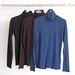 La Boutique Extraordinaire - Majestic Filatures - Sous-pulls col roulé coton/cachemire - 155 €