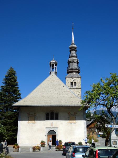 église combloux
