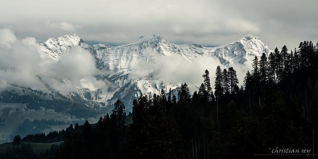 Premières neiges sur les Vanils (Switzerland)