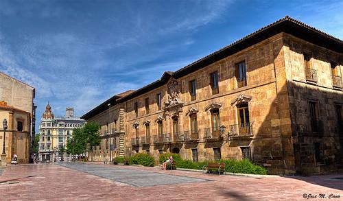Rincones de Oviedo (Asturias): palacio de Valdecarzana-Heredia