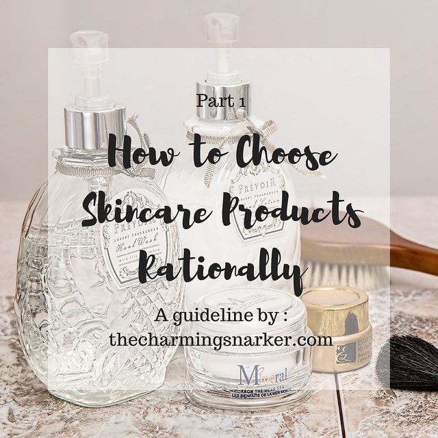 How to choose skincare products rationally part 1