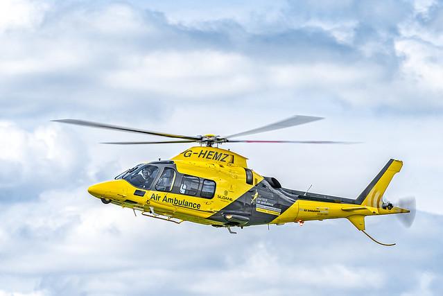 Helicopter G-HEMZ