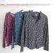 La Boutique Extraordinaire - Majestic Filatures - Chemises et T-shirt imprimés extérieur coton/cachemire intérieur 100 % coton - 175 & 135 €
